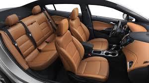 2018 chevy cruze kalahari leather interior overview