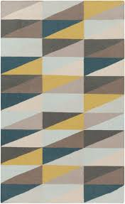 surya frontier ft yellow area rug  free shipping