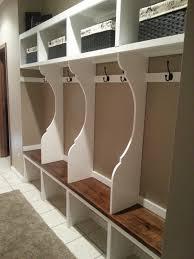 Corner Mudroom Bench Entryway Cabinet Furniture