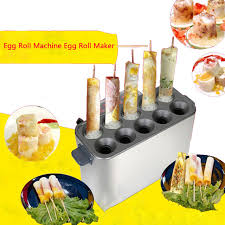 Hot Dog Vending Machines Custom Commercial Gas Egg Roll Machine Egg Roll Maker Hot Dog Vending