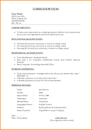 Basic Resume Example Elegant Basic Resume Examples For Jobs 24 Example Of A Resume For 24