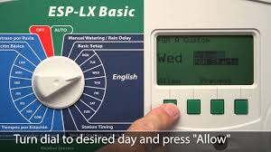 rain bird esp lx basic commercial irrigation controller