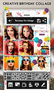 happy birthday cake status card photo frame 1 11 screenshot 1