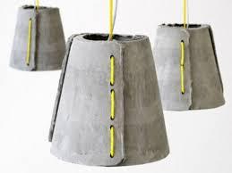 outdoor pendant lighting modern. Concrete Outdoor Pendant Lamps By Rainer Mutsch (via Www.digsdigs.com) Lighting Modern