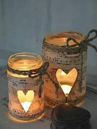 Mason Jars Decorated With Twine DIY with Candle Impressions a mason jar or glass candle holder 76