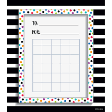 Incentive Charts For Students Spot Stripe Student Incentive Chart