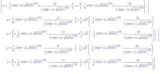 advanced tools for solving equations