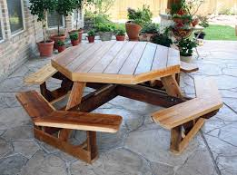 cedar creek wood porch swing patio picnic table pleasant