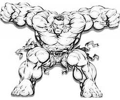 Small Picture Incredible Hulk Coloring Pages regarding Invigorate to color an