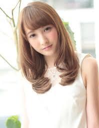 内巻きセミロングku 236 ヘアカタログ髪型ヘアスタイルafloat