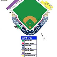 Tempe Diablo Stadium Seating Chart Goodyear Ballpark Seating Chart