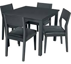 round oak table and 4 chairs romantic square solid wood dining table 4 chairs black
