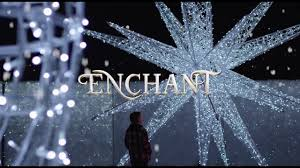 Enchanted Light Show Dallas Enchant The Worlds Largest Light Maze And Market