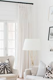 Drapery Q & A- why quality window treatments are worth the investment.  Monika Hibbs  Black Living RoomsFormal Living ...