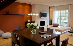 Fine Dining Room Paint Ideas With Accent Wall View In Gallery Intended Design