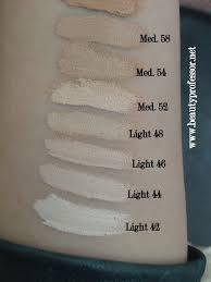 Kat Von D Lock It Foundation Light 46 Cool Kat Von D Lock It Tattoo Foundation Swatches Of All Shades