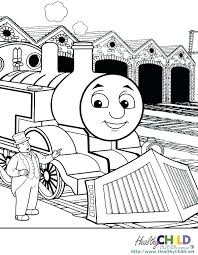 Thomas The Train Coloring Pictures The Tank Engine Train Coloring