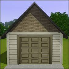 small garage doorMod The Sims  The Smaller Closure Door