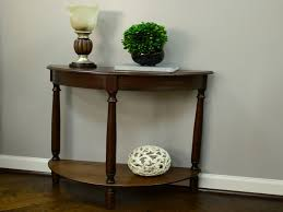 half circle accent table new furniture half moon accent table great circle with living room