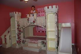 Kids Bed Design : Princess Stylish Kids Theme Beds Palace Electic Interior  Unique With Playing And Pendant kids theme beds decorating ideas Kids Theme  Beds ...