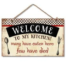 my kitchen decorative wood wall plaque