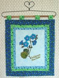Small Picture Flower Hangings California Blue Bells Advanced Embroidery Designs