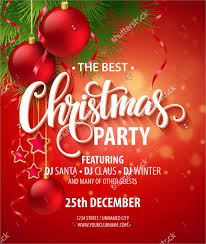 Christmas Invitation Card 37 Christmas Party Invitation Templates Psd Vector Ai