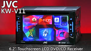 jvc kw v11 double din dvd receiver 6 2 lcd touchscreen jvc kw v11 double din dvd receiver 6 2 lcd touchscreen