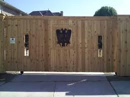 wood fence driveway gate. Plain Fence Sliding Wood Gate Automatic Electric Driveway Frisco Tx  Installation  On Wood Fence Driveway Gate