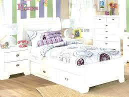 Twin Size White Bed White Twin Sleigh Bed Pepper Youth 4 Piece ...