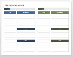 printable daily calendars free printable daily calendar templates smartsheet