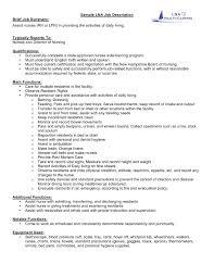 Resume Nurse 25 Nursing Duties For Resume Sofrenchy Resume Examples
