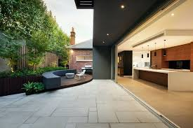 modern patio floor