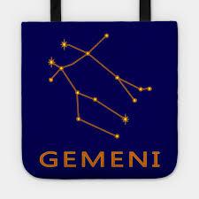 Gemini Constellation Zodiac Star Chart