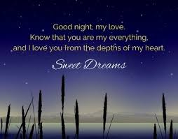 Goodnight My Love Quotes Extraordinary Romantic Good Night Images Or Pictures For Husband Him