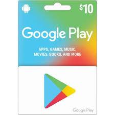 10 google play gift card us