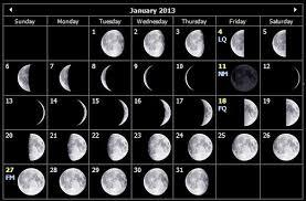 Monthly Stargazing Calendar For January 2013 Cosmobc Com