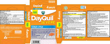Dayquil Severe Tablet Navajo Manufacturing Company Inc