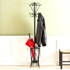 Wooden Coat Rack With Umbrella Holder Impressive Coat Rack With Umbrella Holder Antique Stand Wood ActiveEscapes