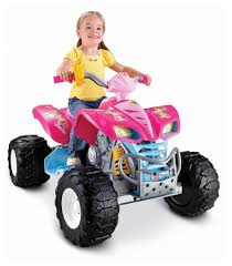 Power Wheels Barbie Kawasaki KFX with Monster Traction Best Gifts for 5 Year Old Girls!