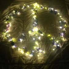 Flower Lights For Bedroom Fairy Lights Bedroom Flower Garland String Lights  Dorm Lights Nursery Lights Flower