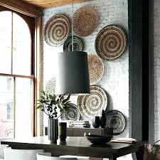 fantastic wicker wall decor interior designing home ideas art rattan basket collection vintage amazing decoration stylish