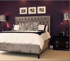 sexy bedroom colors. Color Scheme For Master Bedroom. Black And White Decor Really Pop With The Deep Purple Accent Wall Sexy Bedroom Colors U