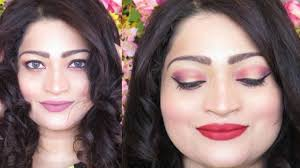 how to do indian wedding guest makeup day night makeup tutorial