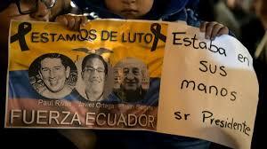Resultado de imagen para Periodistas asesinados del Ecuador