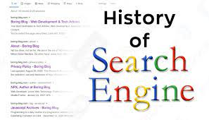 History of Search Engines - Boring Blog