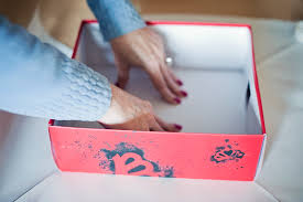 Decorating Boxes With Paper Gift Wrapping a Shoe Box A Cute Gift Decorating Idea Fab You Bliss 64