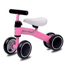 4 Wheel Children Kids Balance mini Bike Toddler Push ... - Vova
