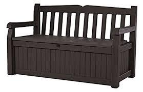 brown storage bench. Modren Bench Keter Eden 70 Gallon All Weather Outdoor Patio Storage Garden Bench Deck  Box Brown For Brown F