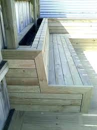 storage deck bench deck seating ideas deck railing seating small size of deck bench